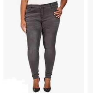 Kut from the Kloth Mia Toothpick Skinny Gray Jeans